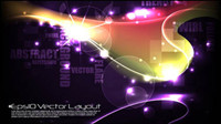 Colorful background material 02 - vector