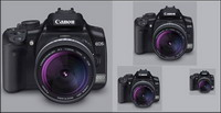 Canon 400D Lens(PNG+Icon)